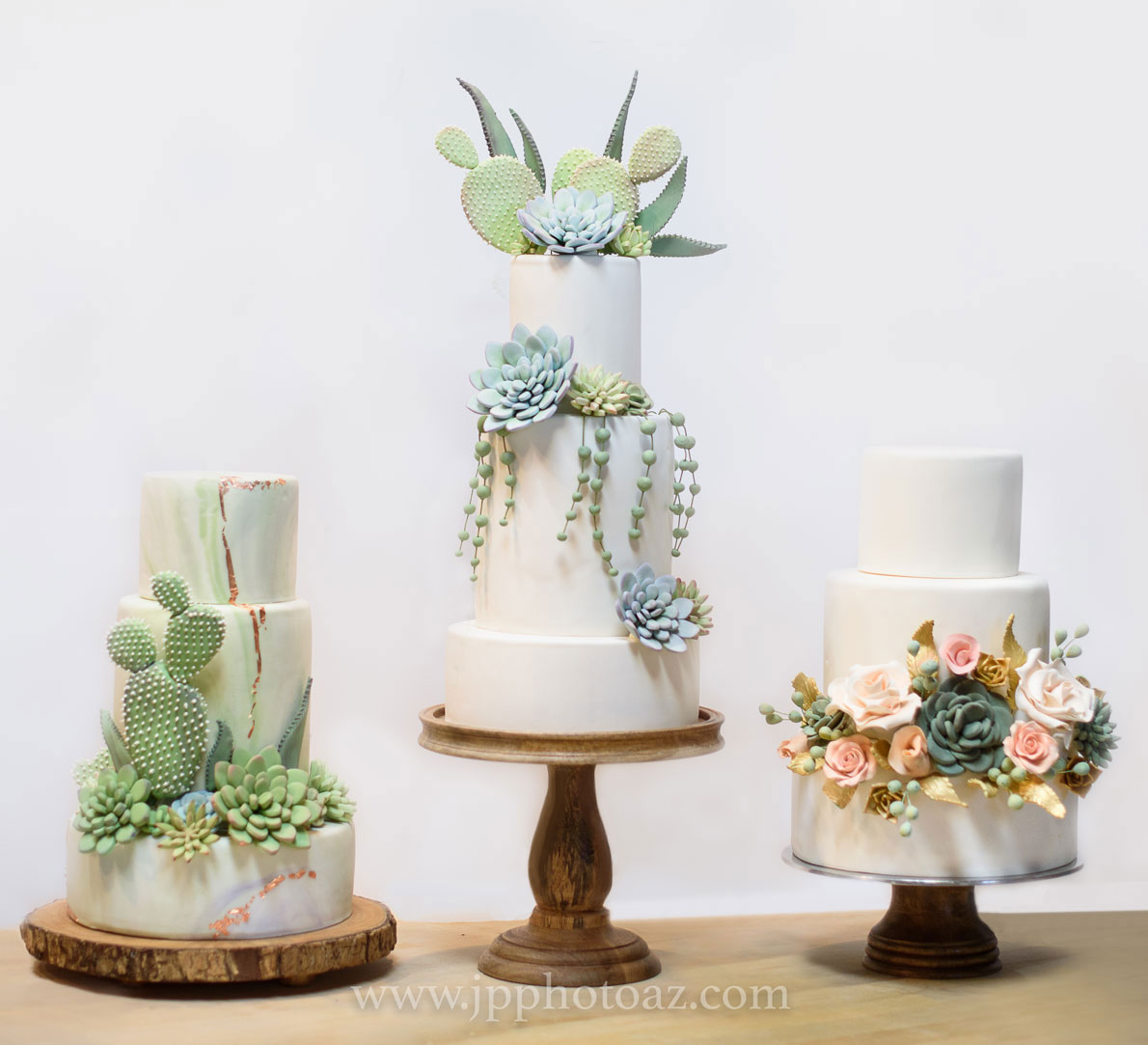 Wedding Cakes from Sedona Cake Couture