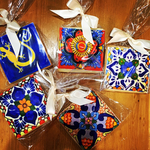 Mexican Tile Cookies 1