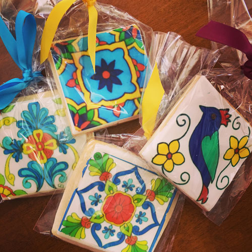 Mexican Tile Cookies 2