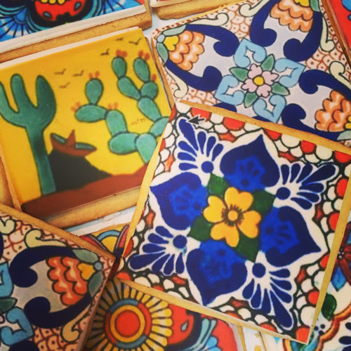 Mexican Tile Cookies 3